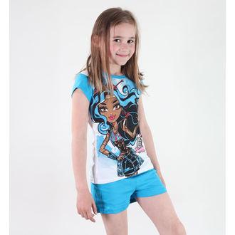 pajama girlish TV MANIA - Monster High - White / Blue, TV MANIA