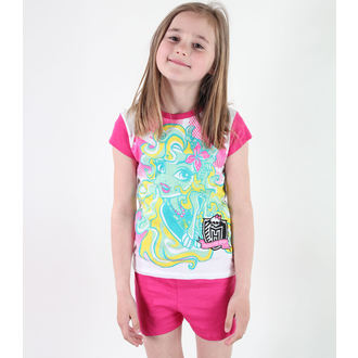 pajama girlish TV MANIA - Monster High - White / Pink, TV MANIA