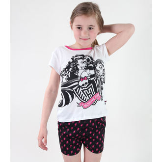 pajama girlish TV MANIA - Monster High - White, TV MANIA
