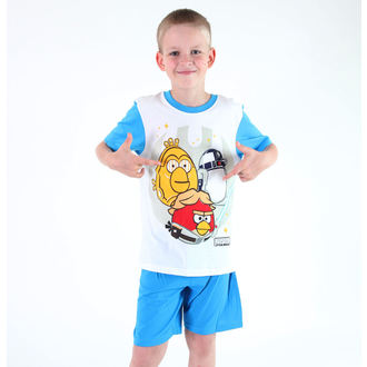 pajama boys TV MANIA - Angry Birds - White, TV MANIA