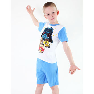 pajama boys TV MANIA - Angry Birds / Star Wars - White, TV MANIA