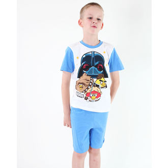 pajama boy TV MANIA - Angry Birds / Star Wars - White - SWAB 341