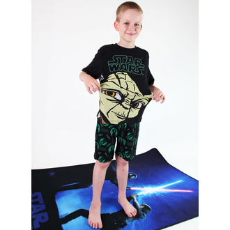 pajama boy TV MANIA - Star Wars - Black - CURTAINS 820