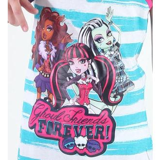 dress girlish TV MANIA Monster High - White / Turquise - MOH 574