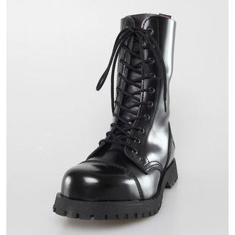 boots NEVERMIND - 10 eyelet - Black Polido, NEVERMIND