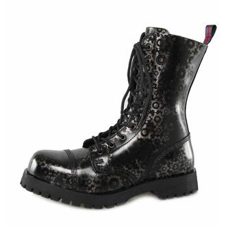boots NEVERMIND - 10 eyelet - Roldan Grey, NEVERMIND