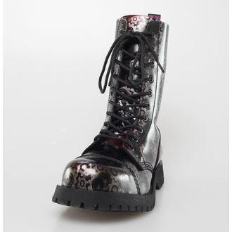 boots NEVERMIND - 10 eyelet - Roldan Bordeaux, NEVERMIND