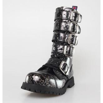 boots NEVERMIND - 14 eyelet - Roldan Grey, NEVERMIND