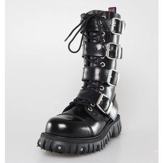 boots NEVERMIND - 14 eyelet - Polido Black, NEVERMIND