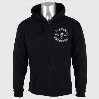hoodie men's Avenged Sevenfold - Flourish Zip - ROCK OFF, ROCK OFF, Avenged Sevenfold