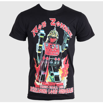 t-shirt metal men's children's Rob Zombie - Lord Dinosaur - ROCK OFF, ROCK OFF, Rob Zombie