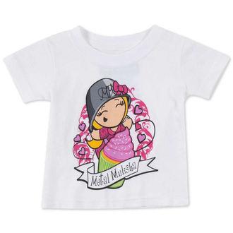 t-shirt street men's children's - CUPCAKE - METAL MULISHA - M14MS18125.01_WHT