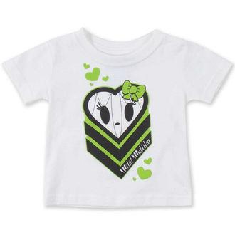 t-shirt street men's children's - HALIE HEART - METAL MULISHA, METAL MULISHA