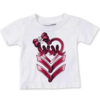 t-shirt street men's children's - RIBBON DANCER - METAL MULISHA, METAL MULISHA