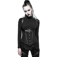 women's bodice PUNK RAVE - Demonia - Y-767