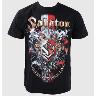 t-shirt metal men's children's Sabaton - Black - CARTON - K_427