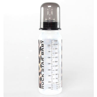 baby bottle (250 ml) ROCK STAR BABY - Leopard, ROCK STAR BABY