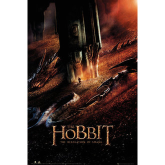 poster The Hobbit - Desolation of Smaug Dragon - GB posters - FP3282