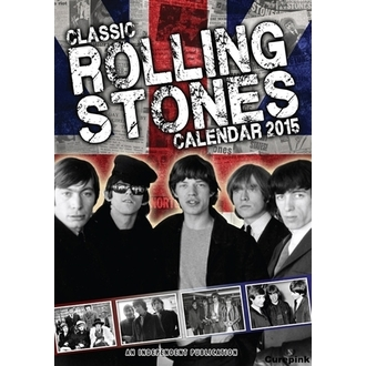 calendar to year 2015 ROLLING STONES