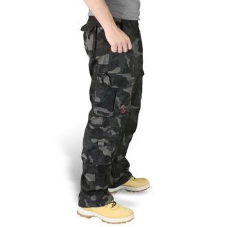 pants men SURPLUS - Airborne Vintage Trousers - Black Camo - 05-3598-42