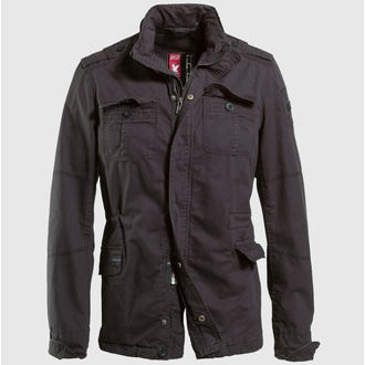 jacket men spring/autumn SURPLUS - Delta Britannia - Black Gewas - 20-3527-63