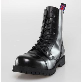 boots NEVERMIND - 8 eyelet - Black Polido, NEVERMIND