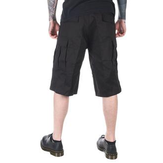 shorts men ROTHCO - LONGER STYLE - BLACK - 7761