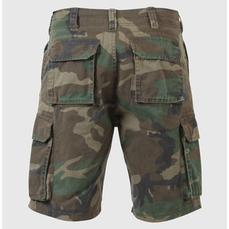 shorts men ROTHCO - VINTAGE PARATROOPER - WOODLAND - 2140