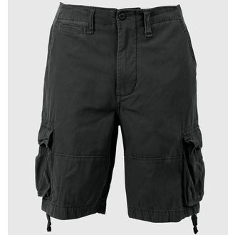 shorts men ROTHCO - VINTAGE INFANTRY - BLACK - 2552