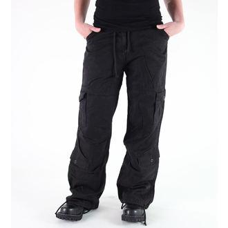 pants women ROTHCO - WMNS VINTAGE PARATROOPER - Fatigues BLACK, ROTHCO