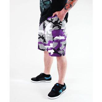 shorts men ROTHCO - BDU SHORT L / C - ULTRA VIOLET CAMO, ROTHCO