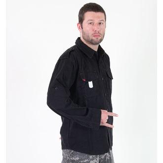 shirt men ROTHCO - VINTAGE BDU - BLACK, ROTHCO