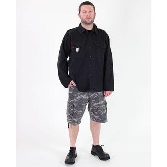 shirt men ROTHCO - VINTAGE BDU - BLACK - 2457