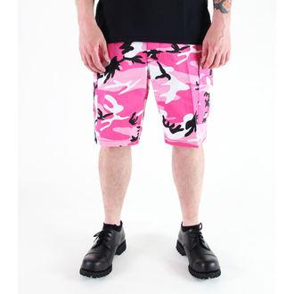 shorts ROTHCO - BDU L / C - PINK CAMO, ROTHCO