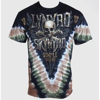 t-shirt metal men's women's unisex Lynyrd Skynyrd - Simple Man - LIQUID BLUE - 11830
