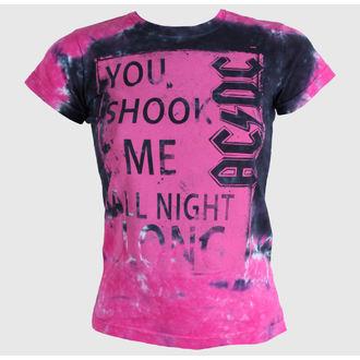 t-shirt metal men's women's unisex AC-DC - Shock Me Juniors - LIQUID BLUE, LIQUID BLUE, AC-DC