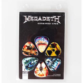 picks Megadeth - PERRIS LEATHERS, PERRIS LEATHERS, Megadeth