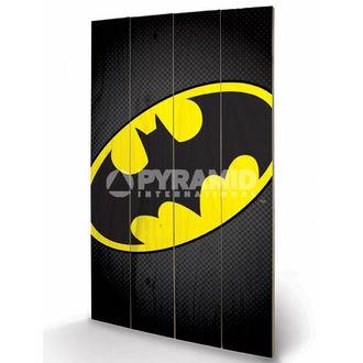 wooden image DC Comics - Batman Symbol - PYRAMID POSTERS, PYRAMID POSTERS