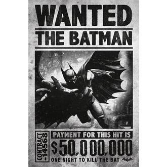 poster Batman - Arkham Origins (Wanted) - PYRAMID POSTERS, PYRAMID POSTERS