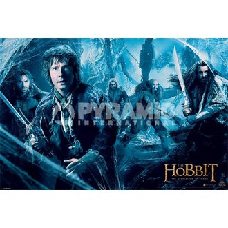 poster Hobbit - Dos - Mirkwood - PYRAMID POSTERS - PP33290