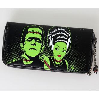 wallet BANNED - Frankenstein And Bride - WBN1401BL