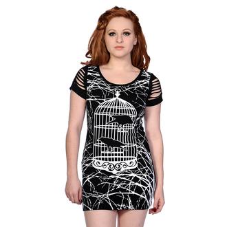 dress women (tunic) BANNED - Birdcage - Black - OBN143BLK