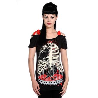 t-shirt women's unisex - Bird In Skeleton Cage - BANNED - OBN119
