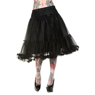 skirt women's (petticoat) BANNED - Petticoat Black - SBN210BLK