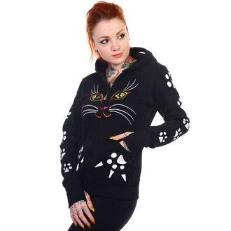 hoodie women's - Cat - BANNED