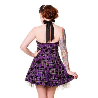 dress women BANNED - Purple Tartan, BANNED