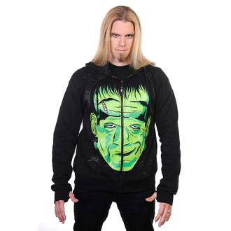 hoodie men's - Frankenstein - BANNED - HBN027M