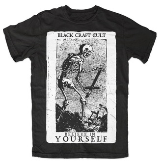 t-shirt men's women's unisex - Believe In Yourself - BLACK CRAFT - MT070BT