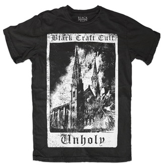 t-shirt men's women's unisex - Unholy Tarot - BLACK CRAFT - MT083UT