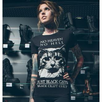 t-shirt men's women's unisex - No Heaven. No Hell - BLACK CRAFT - WT002JS